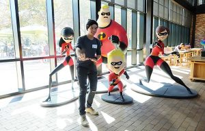ICARE Awards Team at Pixar Animation Studios